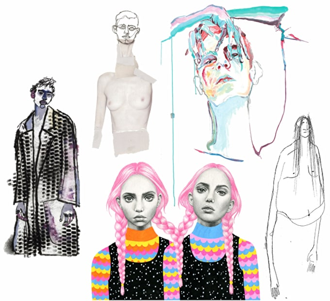 Call For Entries: London College of Fashion's #DRAWFASHION Competition