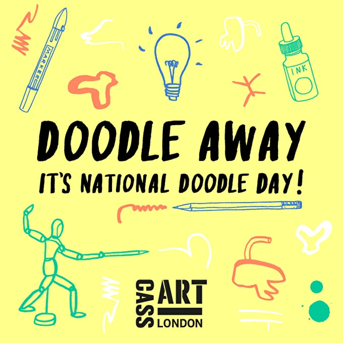 Drawing Without Rules: It's National Doodle Day!