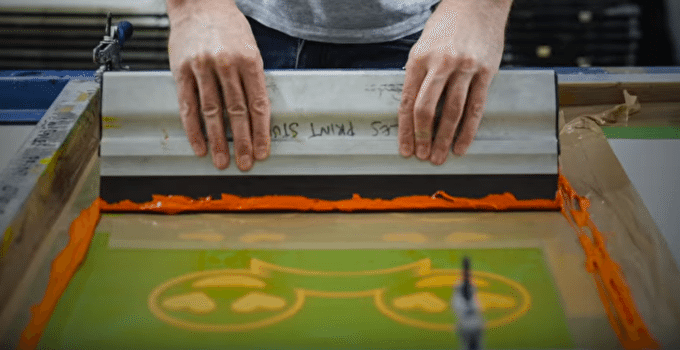 Behind The Scenes of Screen-Printing with Artist Mark Petty
