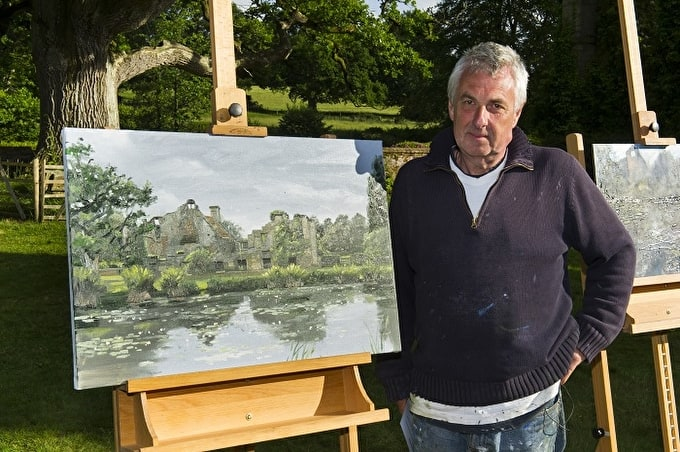Howard Weaver Wins Heat One of Sky Arts Landscape Artist of the Year 2016
