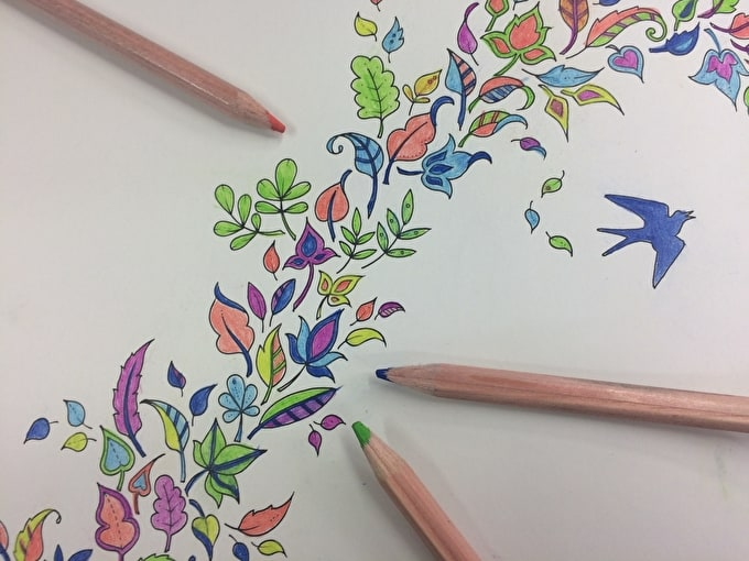 Colouring In For Adults: De-stress With this New Craze - It's Not Just For Kids