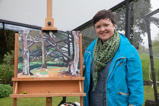 Sky Arts Landscape Artist of the Year: Emma Copley, Second Heat Winner
