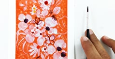 How to: Create an Abstract Floral Artwork with Ingrid Sanchez