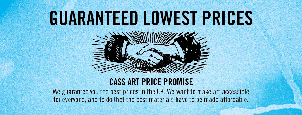 Art supplies at the best price guaranteed at Cass Art.