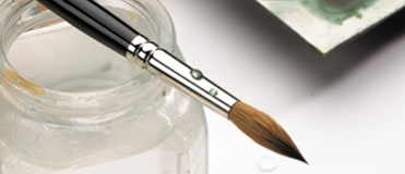 From Kolinsky to Da Vinci, we have some of the best watercolour brushes on the market at the best prices.