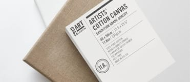 Cass Art Canvas comes in linen to cotton and made from the very best materials.