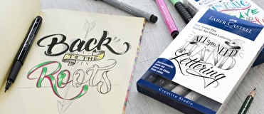 Calligraphy supplies such as dip pens, nibs and ink all available online and in our stores