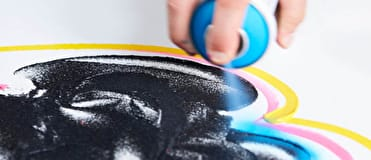 Liquitex Spray Paint is a fine art tool made with highly lightfast artist-quality pigments.
