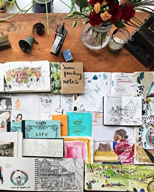 Observational Drawing and Keeping a Sketchbook with Katie Chappell