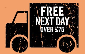 Free next day delivery over £75