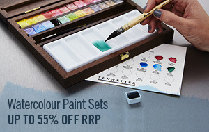 Painting Sets offer the best value for money and we stock brands like Sennelier, Winsor & Newton and Schmincke.