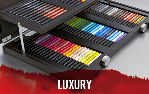 In our Luxury Sale we have the best prices on top art supplies such as Winsor & Newton and Faber Castell.