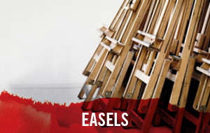 Easels from big names such as Mabef, Winsor & Newton and Daler Rowney available for delivery straight to your door.
