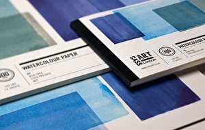 A range of papers for different uses in a variety of sizes, the best value with Cass Art paper.