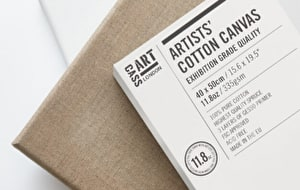 Made in Europe from the highest-quality spruce wood, each canvas has been produced for use with all forms of oil and acrylic colour, as well as many other mixed media applications.