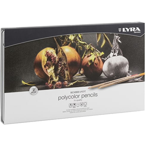 Lyra Rembrandt Polycolor Metal Tin Set of 72