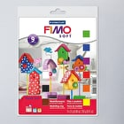 Staedtler Fimo Soft Modelling Clay Half Block and Tools Set of 8
