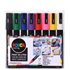 Posca Paint Marker PC-5M Starter Pack 1.8-2.5mm Set of 8