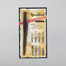 Speedball #5 Artist Pen Set of 5