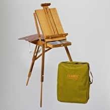 JULLIAN Full Size Sketch Box Easel including Carrying Bag 65 x 32 x 20cm
