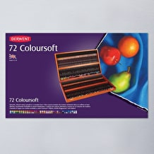 Derwent Coloursoft Wooden Box Set of 72