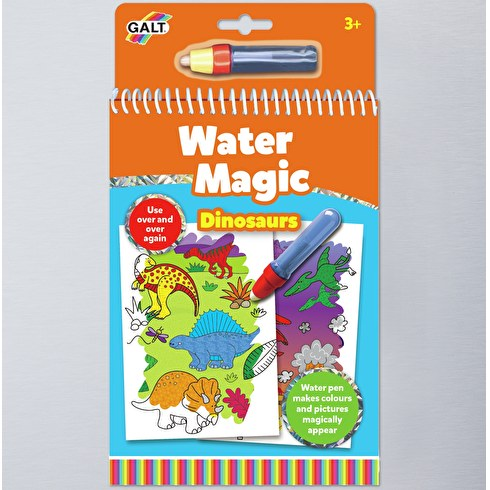 Water Magic Dinosaurs Colouring in Book by Galt