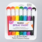 Tulip Fabric Spray Paint Rainbow 24ml Pack of 7