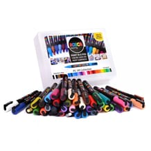 Posca Paint Marker PC-3M Collection 0.9-1.3mm Set of 40