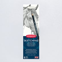 Derwent Sketching Pencil Tin Set of 6