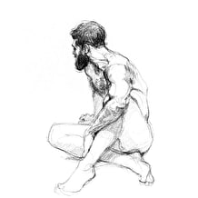 Jake Spicer Life Drawing at Cass Art Islington Tuesday 16th October: The Head & Neck
