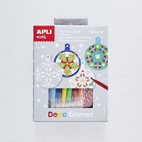 Apli Kids Craft Kit Baubles Garland