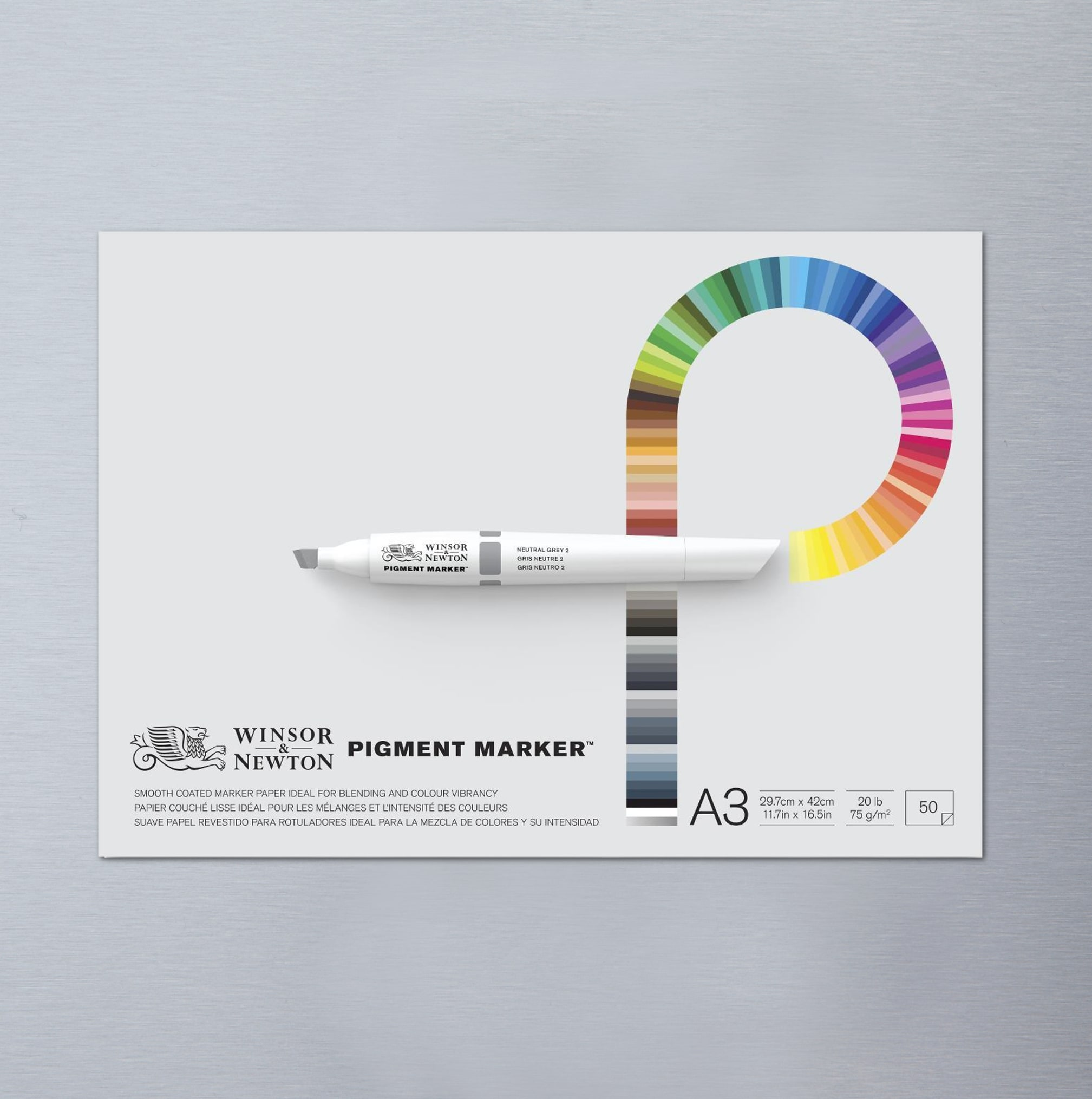 Winsor newton pigment marker pad 50 sheets buy graphic for Buy blueprint paper