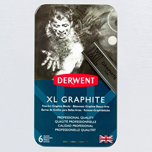 Derwent XL Graphite Set Pack of 6 | Cass Art
