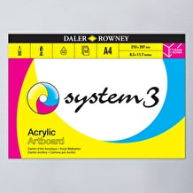 Daler Rowney System 3 Artboard Pad 10 Sheets A4
