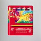 Caran D'ache Supracolor Soft Water Soluable Pencils Pack of 18