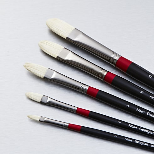 Daler Rowney Georgian Filbert | Paint Brushes | Cass Art