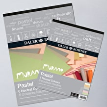 Daler Rowney Murano Fine Art Paper Pad 160gsm 30 sheets Neutral Colours