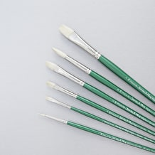Pro Arte Artists' Hog Series A Oil and Acrylic Brush Set of 6 - Cass Art Exclusive