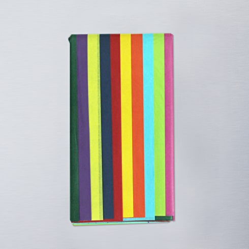 Tissue Pack 20 Sheets Assorted Colours   Craft Tissue Paper   Cass Art