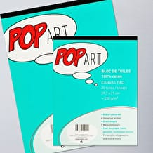 Pebeo Pop Art 100% Cotton Canvas Pad