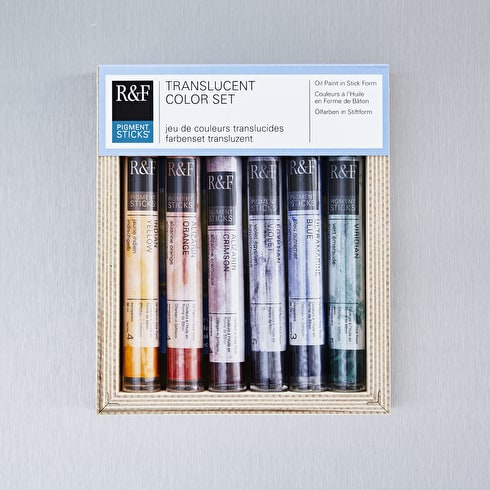R&F Pigment Stick Translucent 38ml Set of 6
