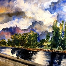 Thames Festival Watercolour Workshop, September 22nd, 10:00am to 12:00pm