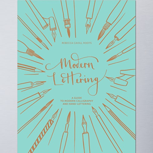 Modern Lettering by Rebecca Cahill Roots