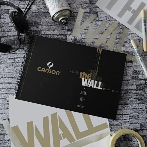 Canson The Wall Pad Double Sided Marker Pad 220gsm 30 sheets