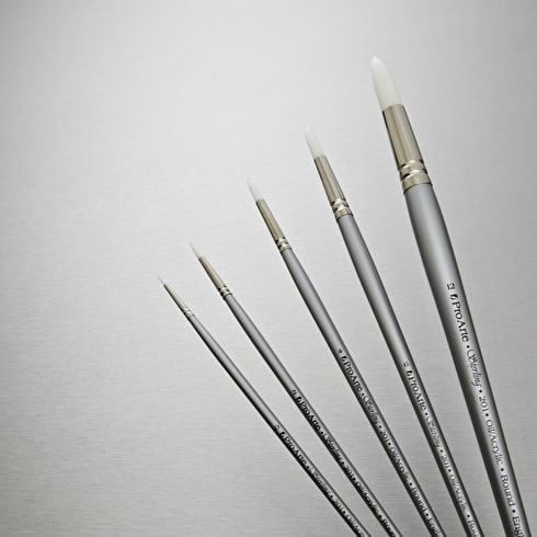 Pro Arte Sterling Acrylix Brush Round Series 201   Professional Brushes   Cass Art