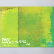 Fluid Watercolour Easy Block Hot Pressed 300gsm