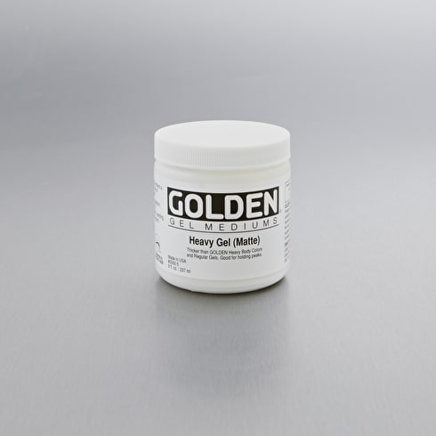Golden Heavy Gel Matte 236ml