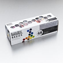 Liquitex Basics Acrylic Paint Set of 48 22ml