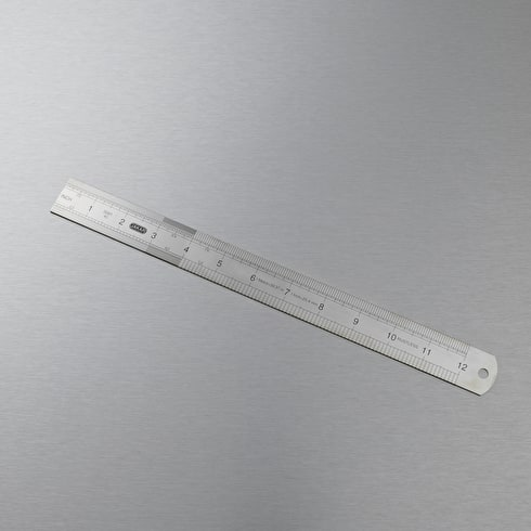 Jakar Steel Rule Cms and Inches 30cm
