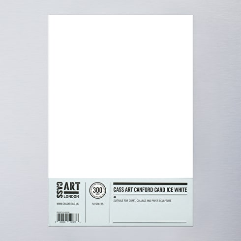 Cass Art Canford Card 300gsm 50 Sheets